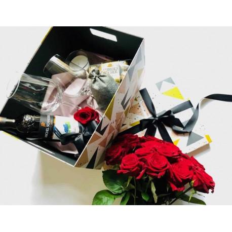 Valentīndienas dāvana Dāvanu kastes