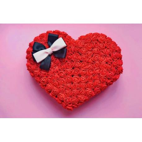 Mākslīgo ziedu sirds Personalizētie