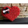 Сердце из искусственных цветов Персонализированные