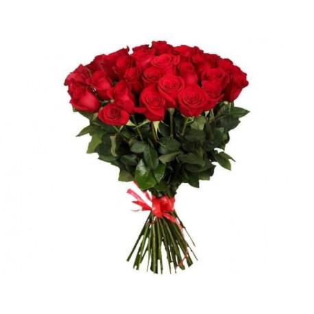 Букет из 21 розы - Красный Розы