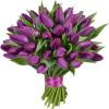 Букет тюльпанов - Фиолетовый Букеты цветов