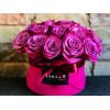 Бархатная цветочная коробка - Небо Цветочные коробки