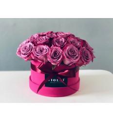 Бархатная цветочная коробка - Небо