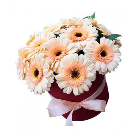Bloom Box с герберами Цветочные коробки
