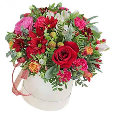 Цветочная Коробка - Цветочный Коктейль Цветочные коробки
