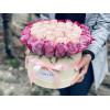 Violetas un Baltas Rozes Ziedu kastītes