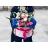 Flower box - Zilās debesis Ziedu kastītes