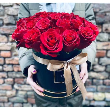 Ziedu kaste - Sarkanais mākonis Ziedu kastītes