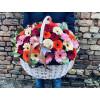 Цветочная корзина - Гербера Корзины цветов