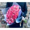 Rožu pušķis - Maigi rozā 60cm Rozes