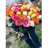 Букет роз - разные цвета 60см Розы