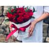 Mazā ziedu kaste - Sarkanas rozes Ziedu kastītes