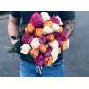Букет из 21 розы - Mix Розы