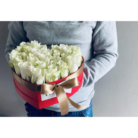 Flower Box - Сердце Цветочные коробки