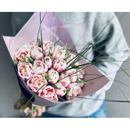 Ziedu pušķis - Tulpes Ziedu pušķi
