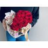 Цветочная коробка - Розы и сладости