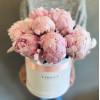 Flower Box с пионами Цветочные коробки