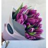 Tulpju pušķis - Violets Ziedu pušķi