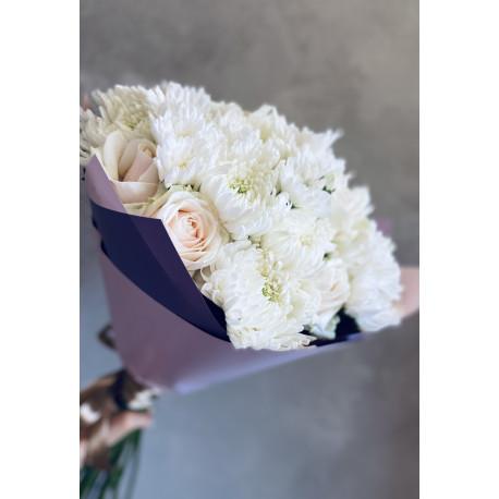 Rožu pušķis - Maigums Ziedu pušķi