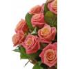 Ziedu grozs ar 25 rozēm Ziedu grozi
