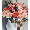 Ziedu kaste - Sārtais saulriets Ziedu kastītes
