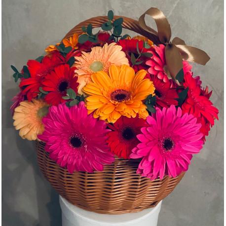 Цветочная корзина - Красочная Корзины цветов
