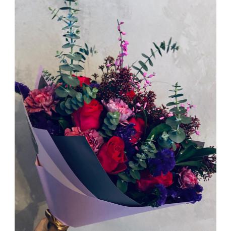 Букет роз - Летний вечер Букеты цветов