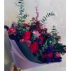 Rožu pušķis - Vasaras vakars Ziedu pušķi