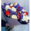 Букет с розами и статицой 60см Букеты цветов