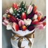 Flower Box ar tulpēm