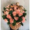 Ziedu grozs ar 39 rozēm Ziedu grozi