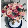 Цветочная Коробка - Розовый Закат Цветочные коробки