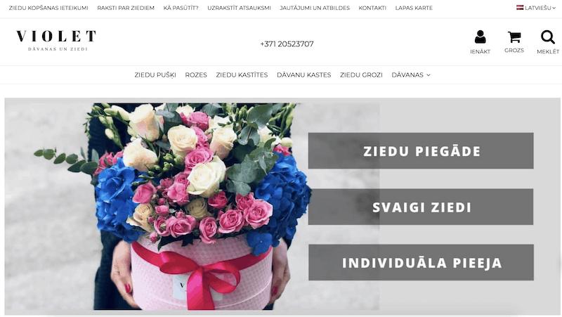 Kā pasūtīt ziedus 1